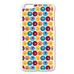 Star Ball Apple iPhone 6 Plus/6S Plus Enamel White Case
