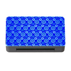 Neon Circles Vector Seamles Blue Memory Card Reader with CF