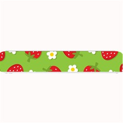 Strawberries Flower Floral Red Green Small Bar Mats