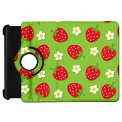 Strawberries Flower Floral Red Green Kindle Fire HD 7