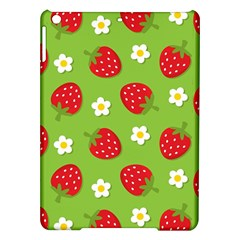 Strawberries Flower Floral Red Green iPad Air Hardshell Cases