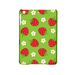 Strawberries Flower Floral Red Green iPad Mini 2 Hardshell Cases