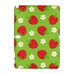 Strawberries Flower Floral Red Green Galaxy Note 1
