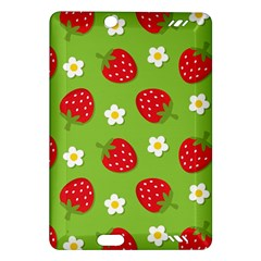 Strawberries Flower Floral Red Green Amazon Kindle Fire HD (2013) Hardshell Case
