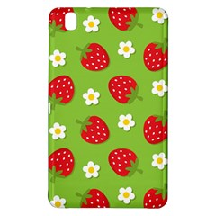 Strawberries Flower Floral Red Green Samsung Galaxy Tab Pro 8.4 Hardshell Case