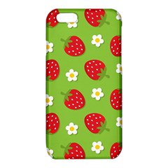 Strawberries Flower Floral Red Green iPhone 6/6S TPU Case