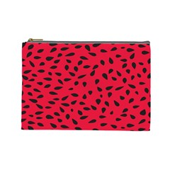 Watermelon Seeds Cosmetic Bag (Large)