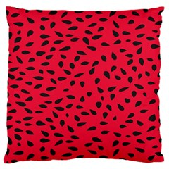 Watermelon Seeds Standard Flano Cushion Case (Two Sides)