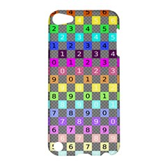 Test Number Color Rainbow Apple iPod Touch 5 Hardshell Case