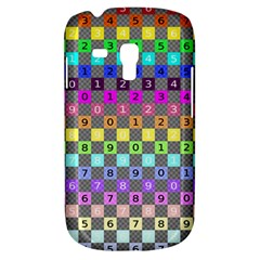 Test Number Color Rainbow Galaxy S3 Mini
