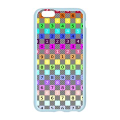 Test Number Color Rainbow Apple Seamless iPhone 6/6S Case (Color)