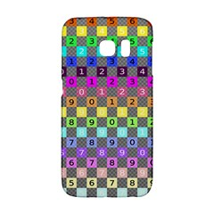 Test Number Color Rainbow Galaxy S6 Edge