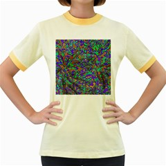 We Need More Colors 35a Women s Fitted Ringer T-Shirts
