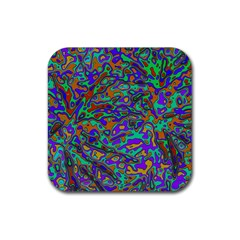 We Need More Colors 35a Rubber Square Coaster (4 pack)