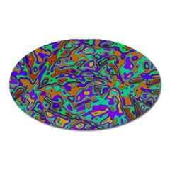 We Need More Colors 35a Oval Magnet