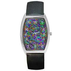 We Need More Colors 35a Barrel Style Metal Watch