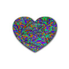 We Need More Colors 35a Heart Coaster (4 pack)