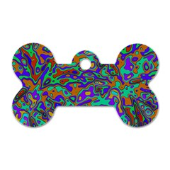 We Need More Colors 35a Dog Tag Bone (Two Sides)