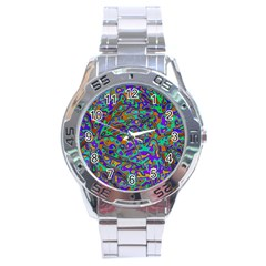 We Need More Colors 35a Stainless Steel Analogue Watch