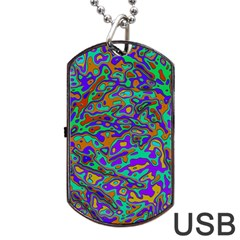 We Need More Colors 35a Dog Tag USB Flash (Two Sides)