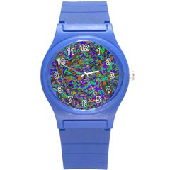 We Need More Colors 35a Round Plastic Sport Watch (S)