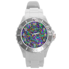 We Need More Colors 35a Round Plastic Sport Watch (L)