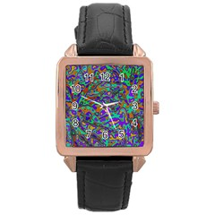 We Need More Colors 35a Rose Gold Leather Watch