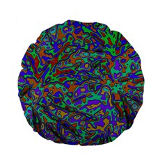 We Need More Colors 35a Standard 15  Premium Flano Round Cushions