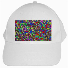 We Need More Colors 35c White Cap