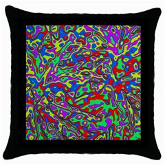 We Need More Colors 35c Throw Pillow Case (Black)