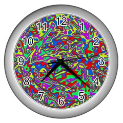 We Need More Colors 35c Wall Clocks (Silver)