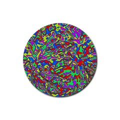 We Need More Colors 35c Rubber Round Coaster (4 pack)
