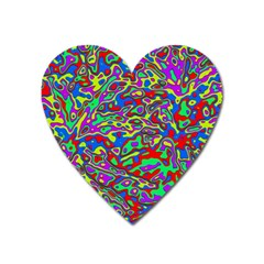 We Need More Colors 35c Heart Magnet