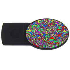 We Need More Colors 35c USB Flash Drive Oval (1 GB)
