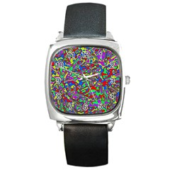 We Need More Colors 35c Square Metal Watch