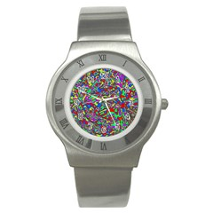 We Need More Colors 35c Stainless Steel Watch