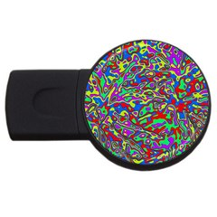 We Need More Colors 35c USB Flash Drive Round (4 GB)