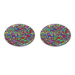 We Need More Colors 35c Cufflinks (Oval)