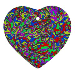 We Need More Colors 35c Heart Ornament (Two Sides)