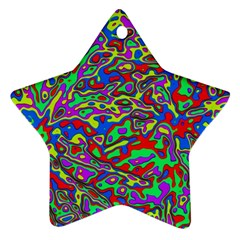 We Need More Colors 35c Star Ornament (Two Sides)