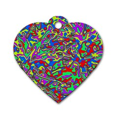 We Need More Colors 35c Dog Tag Heart (Two Sides)