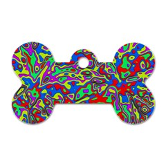 We Need More Colors 35c Dog Tag Bone (Two Sides)
