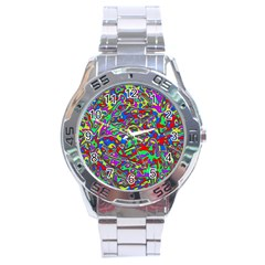 We Need More Colors 35c Stainless Steel Analogue Watch