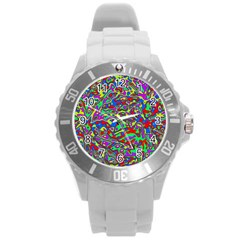 We Need More Colors 35c Round Plastic Sport Watch (L)