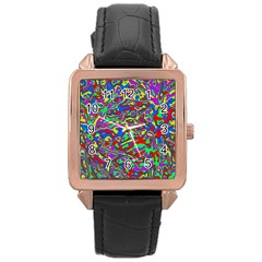 We Need More Colors 35c Rose Gold Leather Watch
