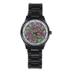 We Need More Colors 35c Stainless Steel Round Watch