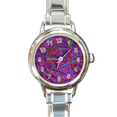 We Need More Colors 35b Round Italian Charm Watch