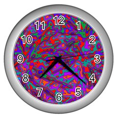 We Need More Colors 35b Wall Clocks (Silver)