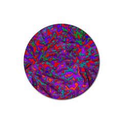 We Need More Colors 35b Rubber Round Coaster (4 pack)