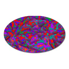 We Need More Colors 35b Oval Magnet